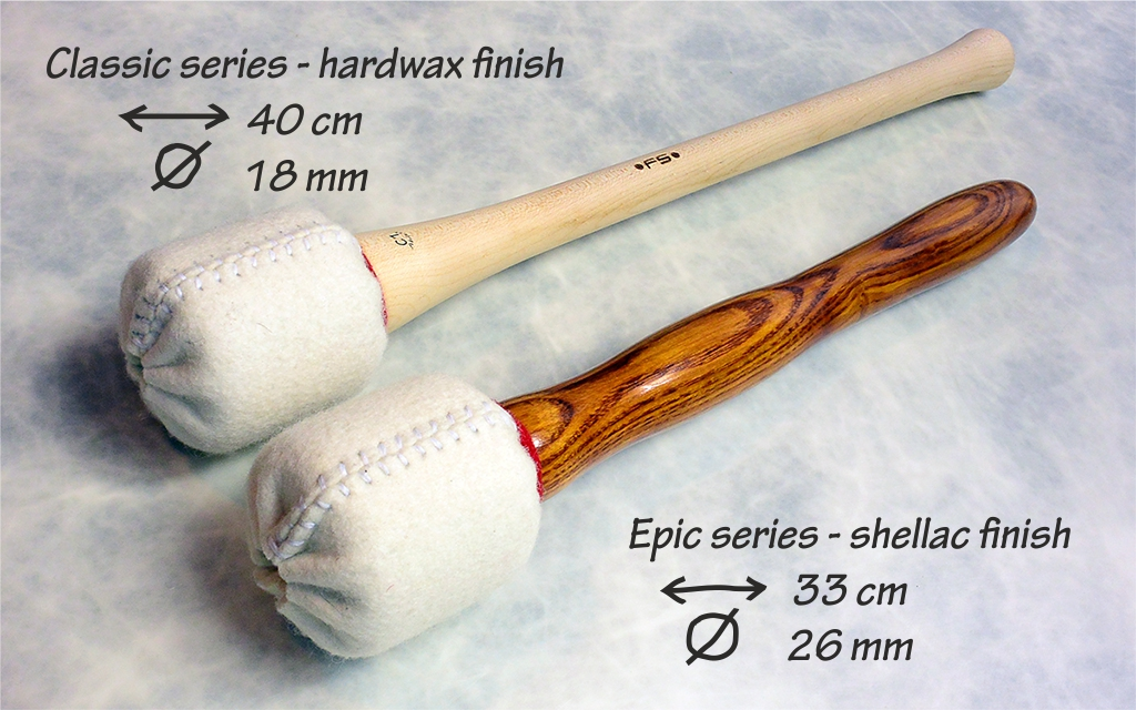 FS Bass drum mallets_shafts II