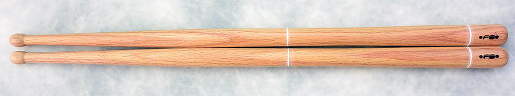 FS D4 red beech hardwax snare drum sticks 250820