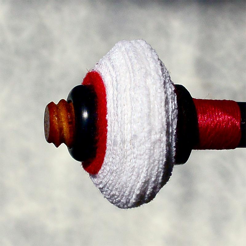 FS F2L Oval cut Flannel timpani mallet